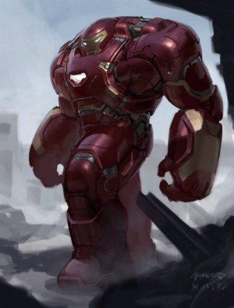 Hulkbuster arte conceptual 1
