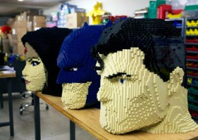 Trinidad DC de LEGO - SDCC