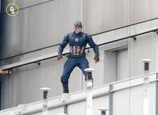 Capitán América Civil War - rodaje Berlín 03