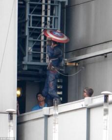 Capitán América Civil War - rodaje Berlín 38