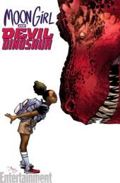 Moon Girl and Devil Dinosaur Portada