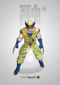 Lobezno Dragon Ball Z