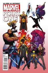 All-New All-Different Marvel Point One Portada Alternativa 2