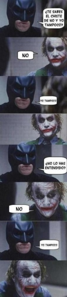 Chiste Batman Joker