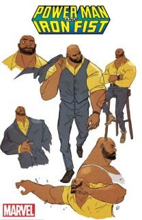 Power Man and Iron Fist Luke Cage