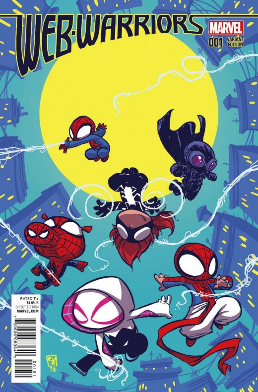 Web Warriors Variant 3