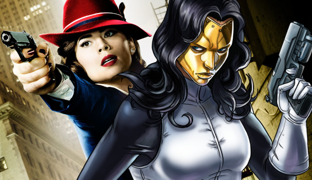 madame masque - agente carter