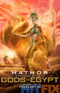 Gods of Egypt Elodie Yung como Hathor
