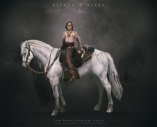 Atreyu y su caballo Ártax