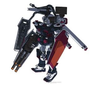 Mobile Suit Gundam Thunderbolt Full Armor Gundam