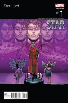 Star-Lord Portada alternativa hip hop de Tradd Moore y Val Staples