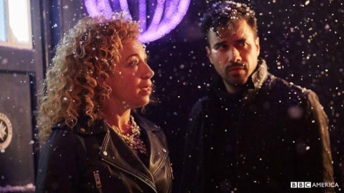 Doctor Who especial navidad 2015 River Song tardis4
