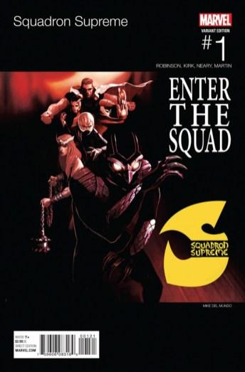 Squadron Supreme Portada hip hop Mike del Mundo