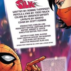 Amazing Spider-Man & Silk Página interior (1)