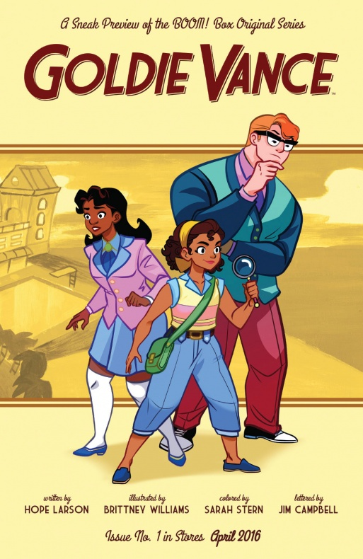 Goldie Vance Portada de Brittney Williams
