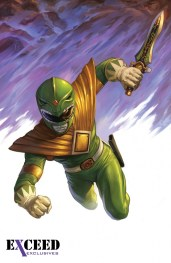 Power Rangers Variant Cover Exceed Comics 2