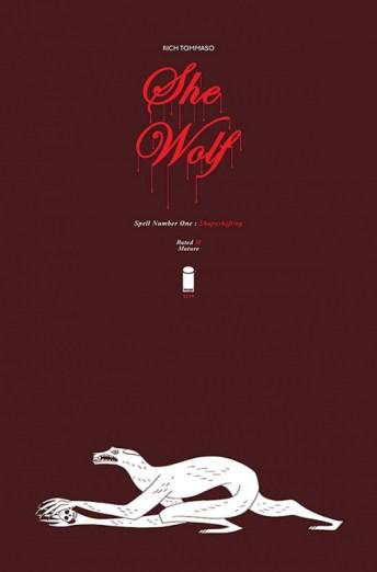 She-Wolf Portada principal de Rich Tommaso