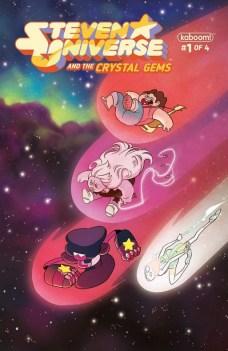 Steven Universe and the Crystal Gems Portada principal de Kat Leyh