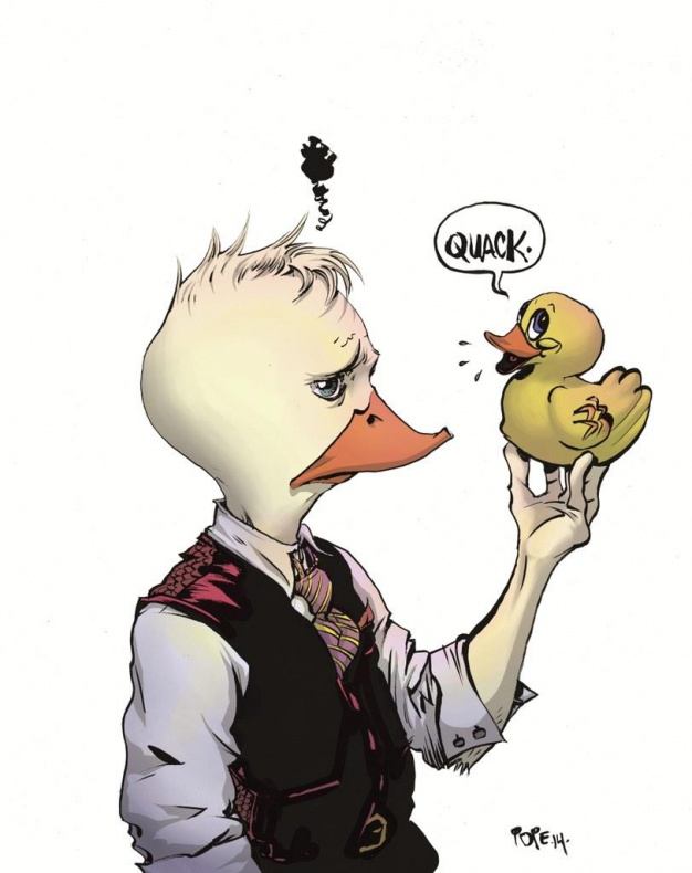 Paul Pope dibuja a Howard el pato