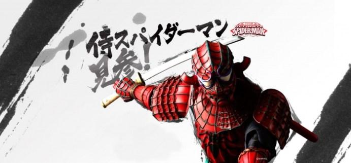 Spiderman Samurái