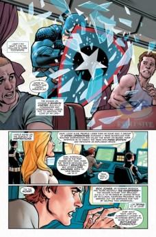Captain America Steve Rogers Página interior (1)