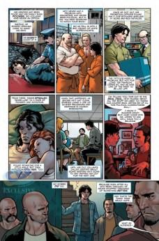 Captain America Steve Rogers Página interior (3)