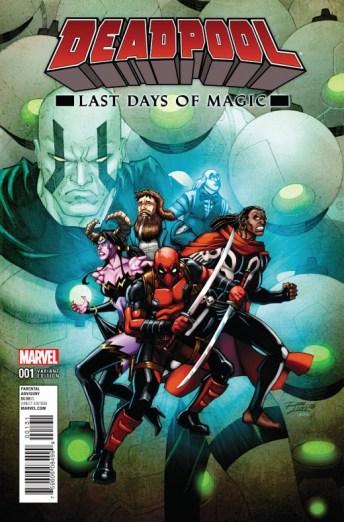 Deadpool Last Days Of Magic Portada alternativa de Ron Lim