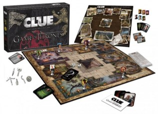 game of thrones - clue - tablero