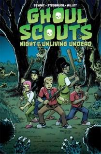 Ghoul Scouts Portada principal de Mark Stegbauer