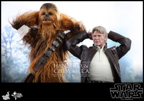 Hot Toys Han Solo Chewbacca (2)