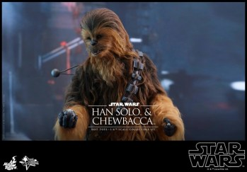 Hot Toys Han Solo Chewbacca (4)