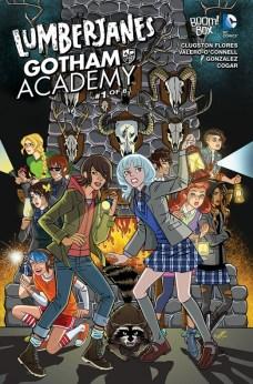 Lumberjanes Gotham Academy Portada alternativa Chynna Clugston Flores