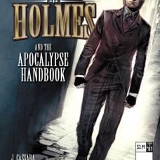 Mycroft Holmes The Apocalypse Handbook Portada alternativa de Luis Guerrero