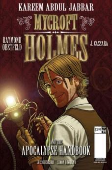 Mycroft Holmes The Apocalypse Handbook Portada alternativa de Paul McCaffrey