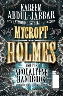 Mycroft Holmes The Apocalypse Handbook Portada alternativa de Rod Reis