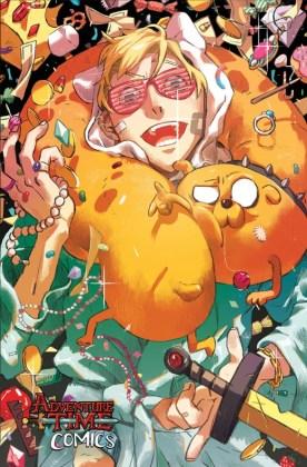 Adventure Time Comics Portada alternativa de Salty