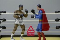 NECA Superman vs. Muhammad Ali (1)