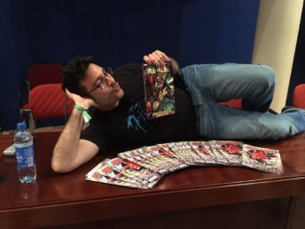 Salva Espín Metrópoli Comic Con