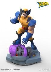 X-Men Disney Infinity figuras fanmade 01