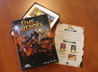 No Times for Heroes, caja abierta