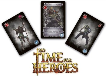 No Times for Heroes, cartas