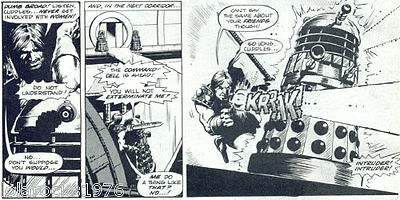 Steve Dillon - Doctor Who magazine 02