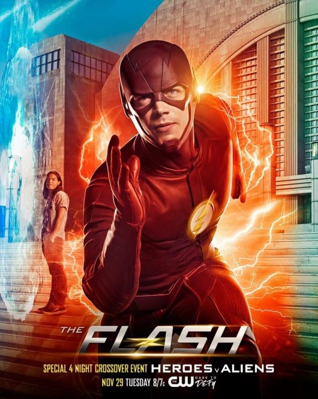 The Flash Invasion!