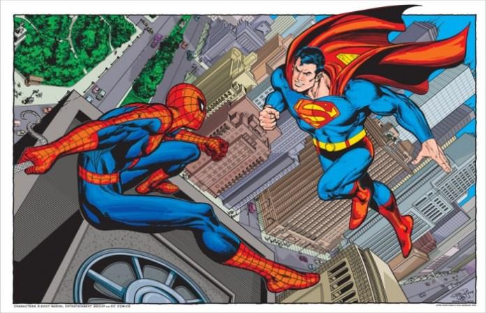 superman vs spider man