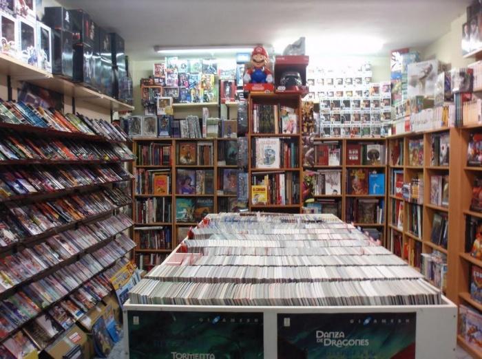 Interior Libreria Legend