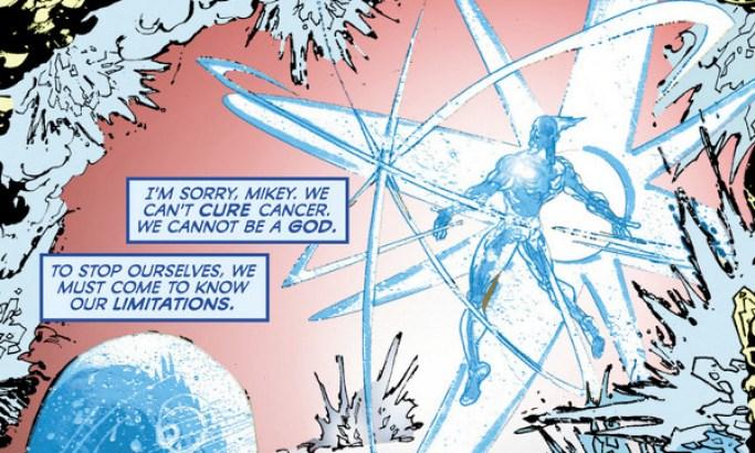 Capitán Átomo Cómic Watchmen