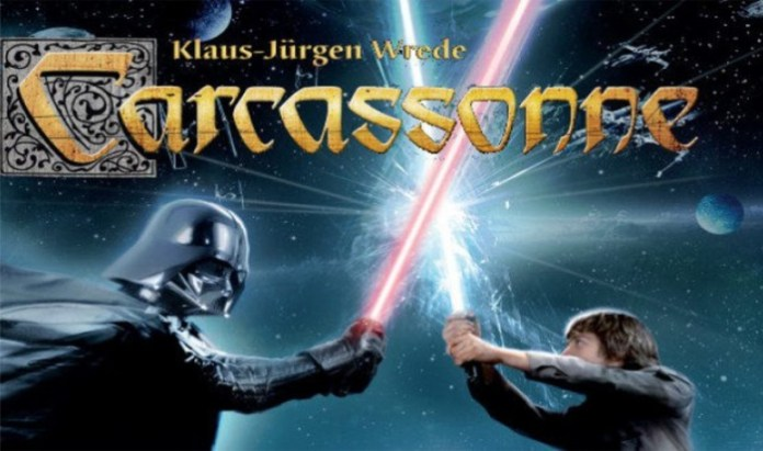 Carcassonne Star Wars 2