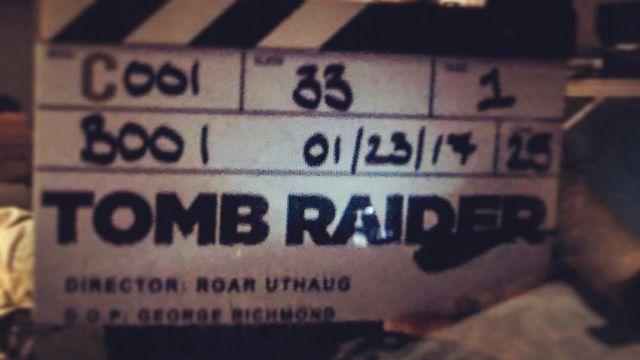 Producción Tomb Raider