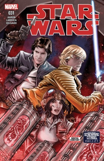 Star Wars Screaming Citadel 2 Portada