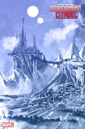 Star Wars Screaming Citadel Boceto